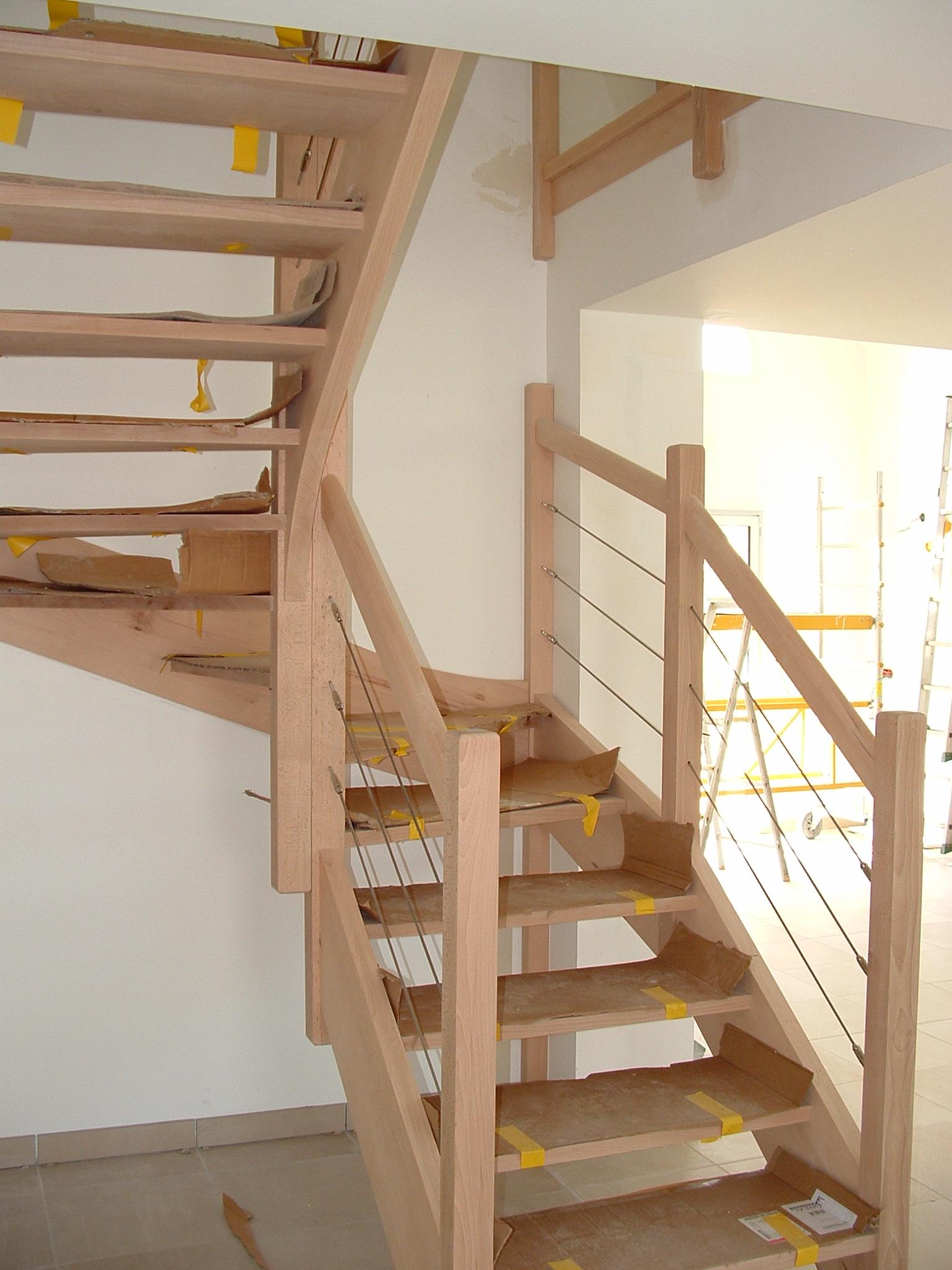 am nagement sous escalier sans contremarche. Black Bedroom Furniture Sets. Home Design Ideas